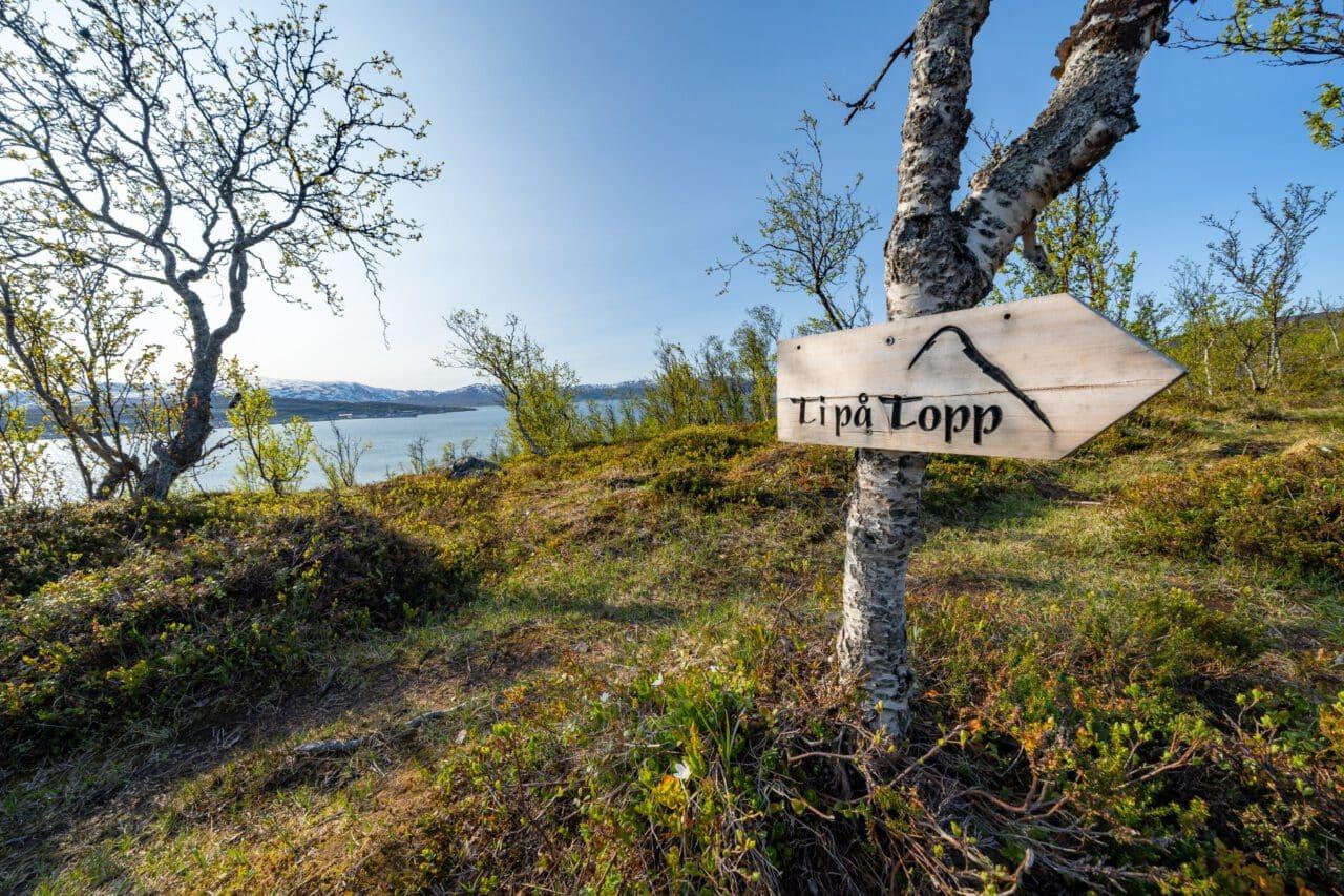 Skjelnan feltet i Tromsø ti på topp